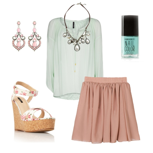 Easter Outfit for petites 4