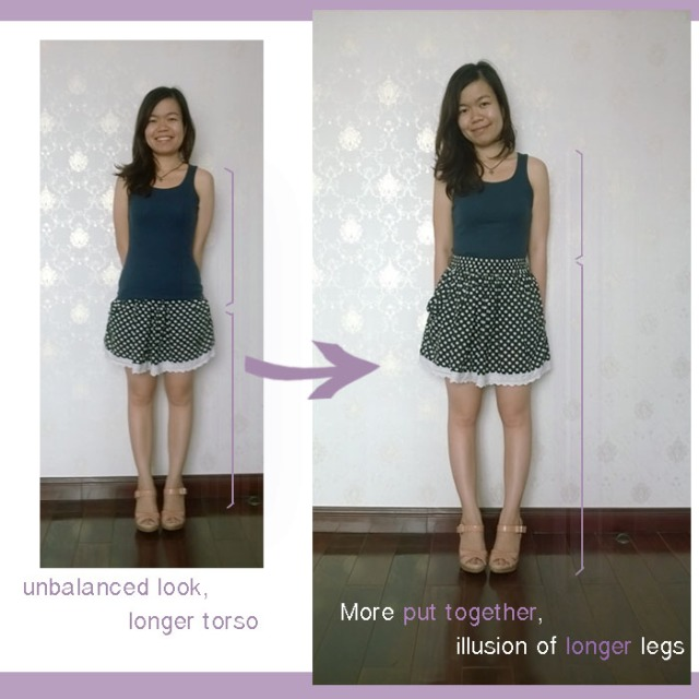 Petite Fashion: Same outfit Different Looks