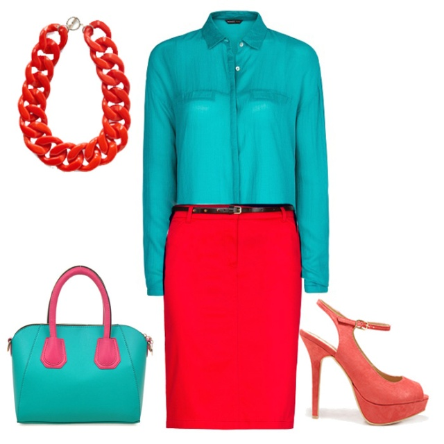 color blocking for petites